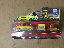 Disney Cars NIP Movie Moments RPM Chief & Petrol Pulaski SHELF PULL - $10.68