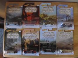 2016 Hot Wheels/Star Wars Planet Series Set of 8~Wal-Mart Exclusive~Bran... - €11,30 EUR