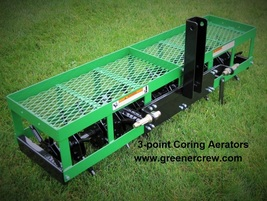 """54"""" Aerator Coring 3-Point for Home & Estate  - $1,349.00"""