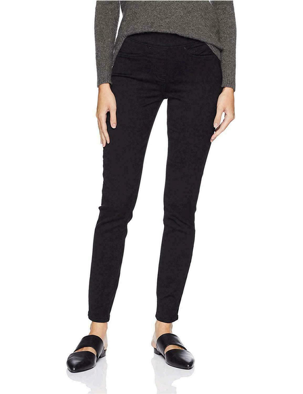 "New Women Levi Signature Pull-on Skinny 4L Black Pants, Waist=28"" Inseam=31"""