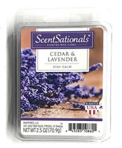 ScentSationals Scented Wax Cubes, Cedar and Lavender, 2.5 Oz - $4.49