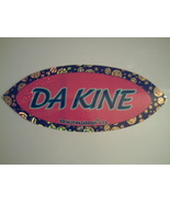 Da Kine Socially Hazardous Skateboard/Computer/Bumper Sticker -B NEW!  - $0.10