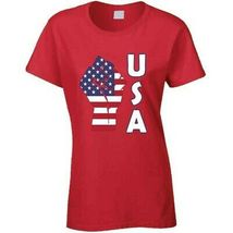 Fight Power Usa Ladies T Shirt image 10