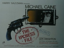 The Ipcress File - Michael Caine - Movie Poster - Framed Picture 11 x 14 - $32.50
