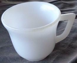 Vintage White Milk Glass Demitasse Flat Cup – VGC – COLLECTIBLE MILK GLA... - $9.89