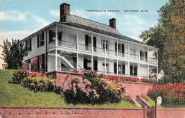 NATCHEZ, MS Mississippi    CONNELLY'S TAVERN    c1940's Linen Postcard - $3.70