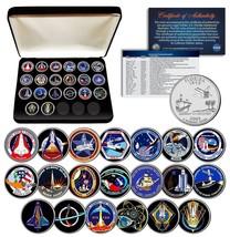 SPACE SHUTTLE PROGRAM MAJOR EVENTS NASA Florida State Quarters 20-Coin S... - $59.35