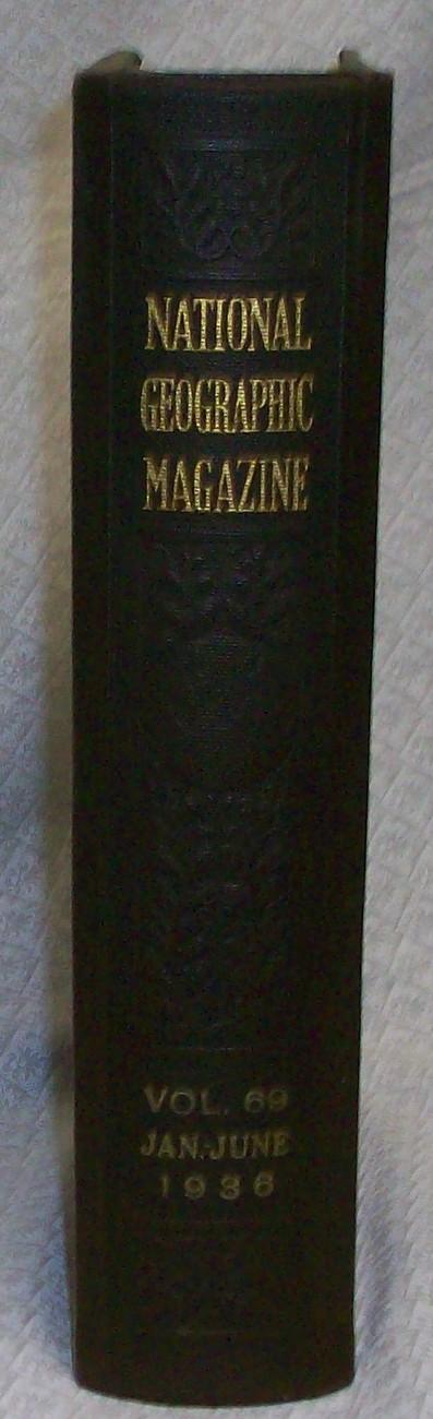 National Geographic Magazine Bound  1936