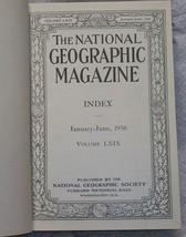 National Geographic Magazine Bound  1936 image 2