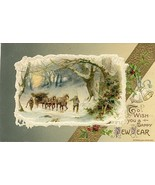 To Wish You a Happy New Year 1911 John Winsch Post Card - $3.00
