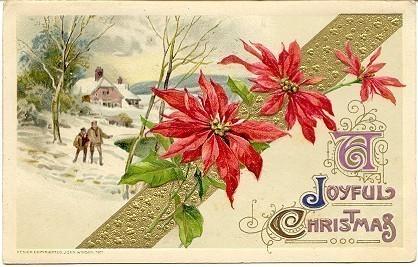 A Joyful Christmas John Winsch 1912 Post Card