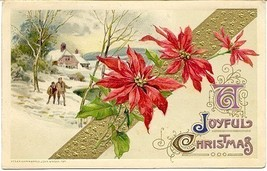 A Joyful Christmas John Winsch 1912 Post Card - $6.00