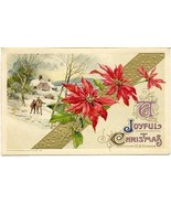 A Joyful Christmas John Winsch 1912 Post Card - $6.00
