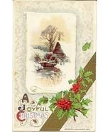 A Joyful Christmas John Winsch Vintage Post Card - $6.00