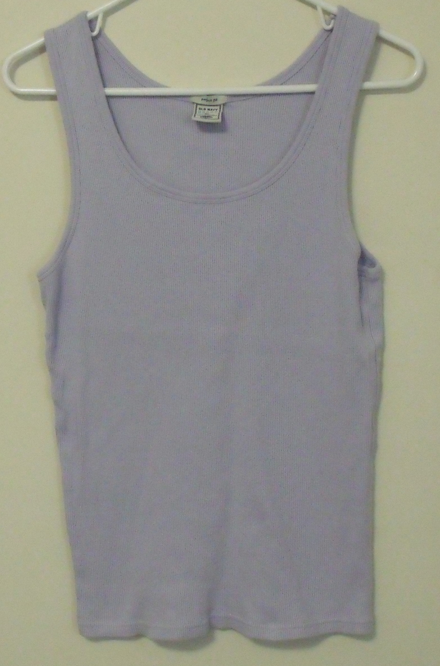 Old navy lilac tank top