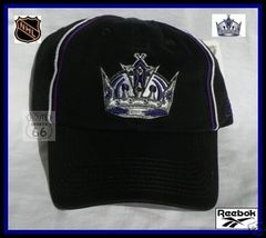 LOS ANGELES KINGS HOCKEY REEBOK HAT CAP FREE SHIPPING - €16,42 EUR