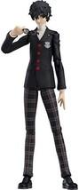 Persona 5 Hero Protagonist Joker School Uniform Ver. Figma Character Fig... - $235.00