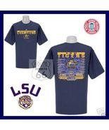 LSU Football Tigers 2003-2004 National Champs SHIRT M - $17.58