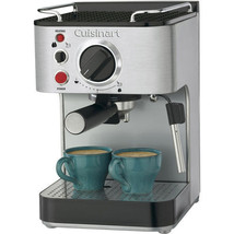 Cuisinart Espresso Maker Brews 1 or 2 Cups of Ground Espresso or Pod - $277.19