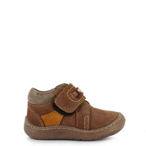 Boy's Rilo leather brown baby crib shoe - $35.98