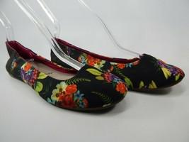 Sanuk Yoga Eden Size 7 M (B) EU 38 Women's Ballet Flats Shoes Black SWF10604R