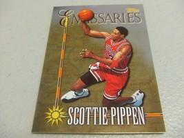 1998-99 Topps 'EMMISARIES' #E1 Scottie Pippen -Chicago Bulls- - $4.90