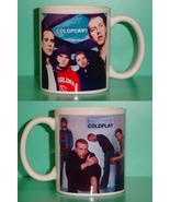 Coldplay 2 Photo Designer Collectible Mug - $14.95