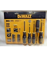 Dewalt DWHT74764 22 Piece Max Fit Screwdriver Set - $15.84
