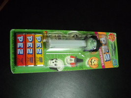 Pez Candy Dispenser and Candy 2002 Glow in the Dark Witch Unused Sealed on Card image 1
