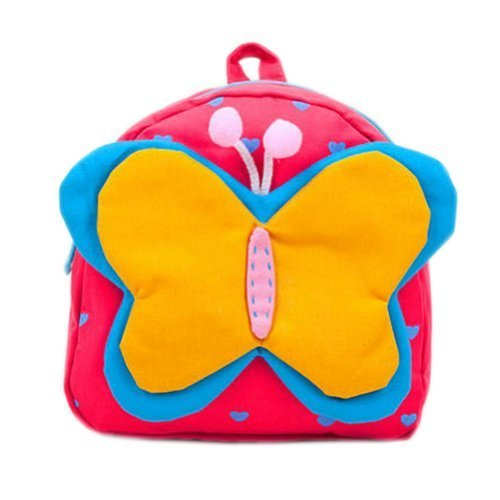 Toddler Backpack Infant Lovely Knapsack Cute Baby Bag Yellow Butterfly 1-4Y