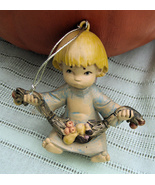 Collectible Hand Painted Vintage Christmas Ange... - $8.97