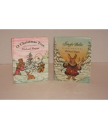 2 MICHAEL HAGUE MINI BOOKS Jingle Bells/Oh Christmas Tree Books First Ed... - $24.99