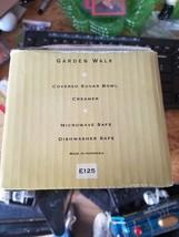 Noritake GARDEN WALK Floral Epoch SUGAR BOWL & CREAMER Set - NIB - $18.46