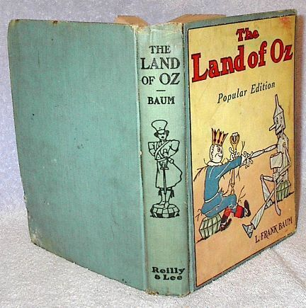 The Land of Oz, L. Frank Baum Popular Edition Ca 1925, John Neill Book