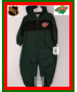MINNESOTA WILD HOCKEY BABY-INFANTS 24M WIND SUIT NEW - $17.11