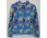 Girls energie mult color fleece jacket front thumb155 crop