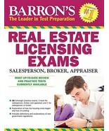 Barron's Real Estate Licensing Exams Barron's Real Estate Licensing Exam... - $22.98