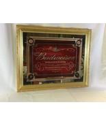 1999 Antique Style Gold Framed Budweiser Millennium Mirror - $395.99