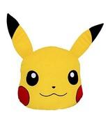 "Nintendo Pokemon Pikachu Head 16"" in Soft Plush Cushion Pillow Licensed ... - $32.66"