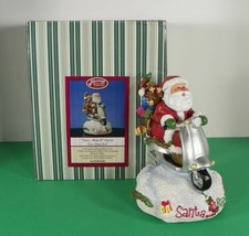San Francisco Music Box Company CHRISTMAS SANTA BRING IT Figurine EUC in... - $37.57