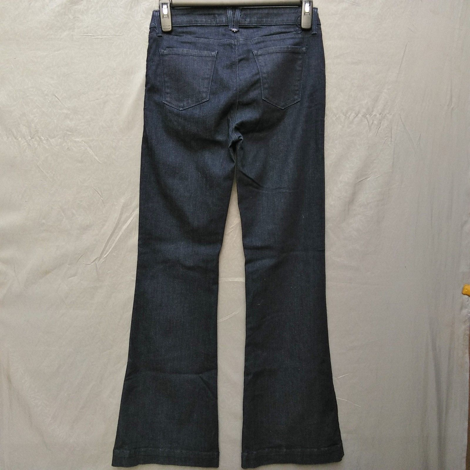 Juicy Jean Couture High Rise Flare Womens Jeans Size 28 Long Dark Wash    image 2