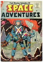 Space Adventures #24 1958-Charlton-Steve Ditko- FN- - $81.97
