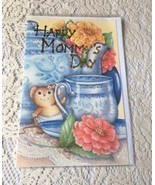 Happy Mommys Day Mothers Day Greeting Card Flowers Son Daughter I love Y... - $3.99