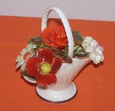 Royal Addlery Flower Basket Fine China England