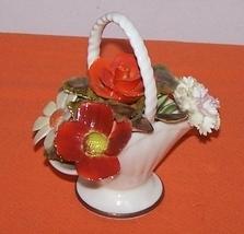 Royal Addlery Flower Basket Fine China England  image 1