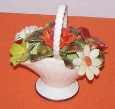 Royal Addlery Flower Basket Fine China England  image 2