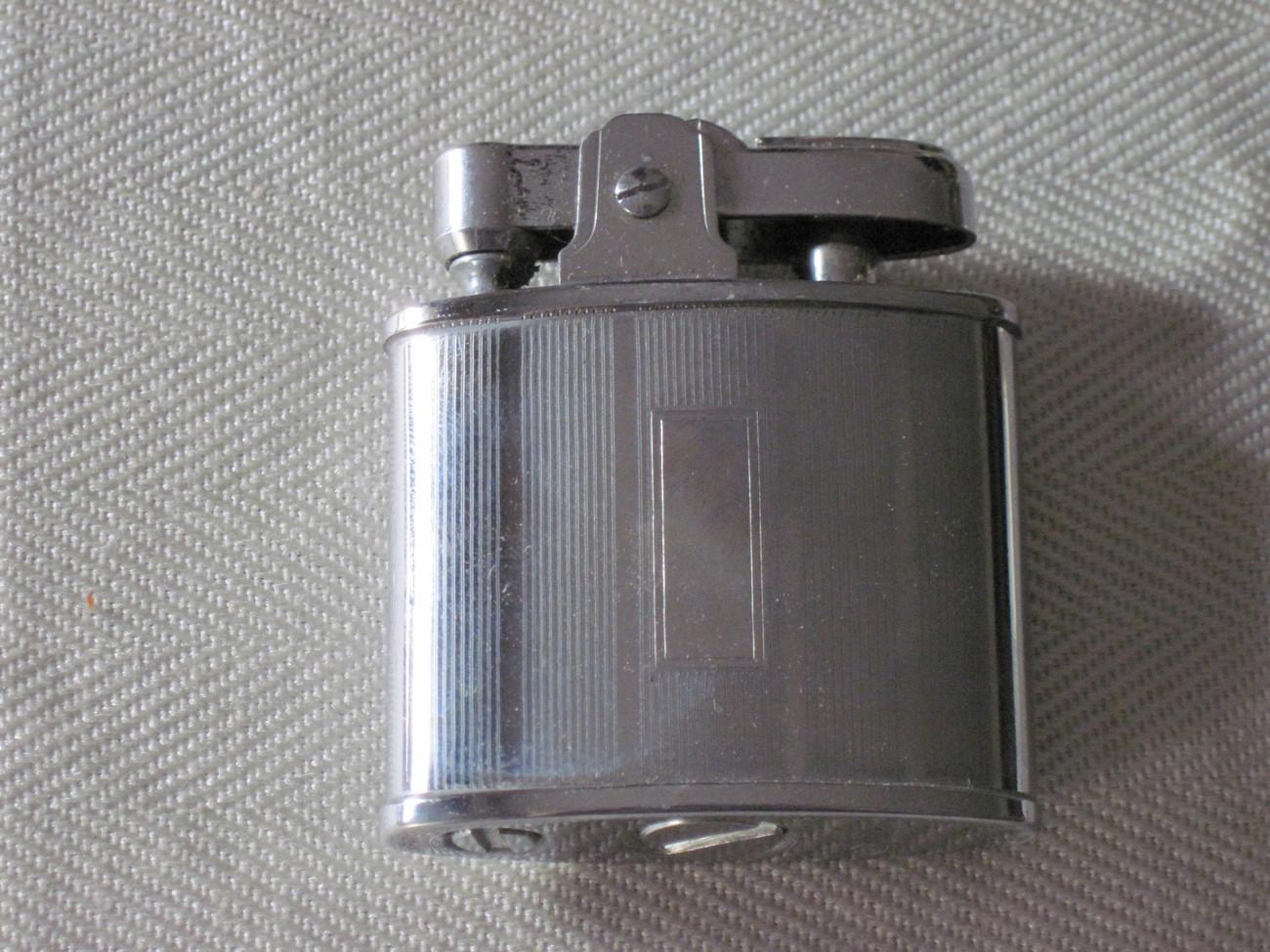 Vintage silverplate cigarette lighter