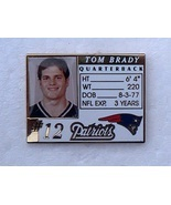 NEW ENGLAND PATRIOTS free shipping METAL TOM BRADY LICENSE HAT CAP JERSE... - $11.48
