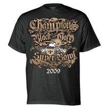 NEW ORLEANS SAINTS FOOTBALL 2009 XLIV SUPER BOWL CHAMPIONS MENS SHIRT ME... - $14.14