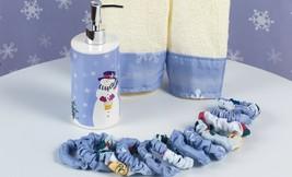 """Carnation """"Let it Snow"""" 16 Piece Bath Set including shower curtain, XFSC... - $39.59"""